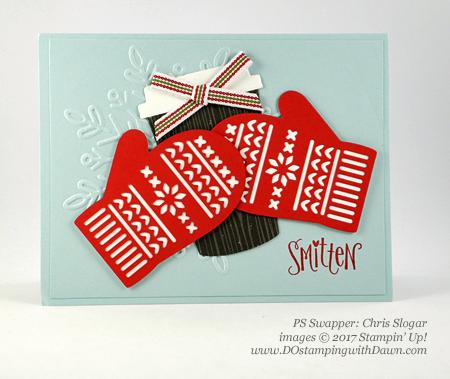 Stampin' Up! Smitten Mitten bundle cards shared by Dawn Olchefske #dostamping #stampinup #handmade #cardmaking #stamping #diy #rubberstamping #christmascards #christmasquilt (ChrisSlogar)