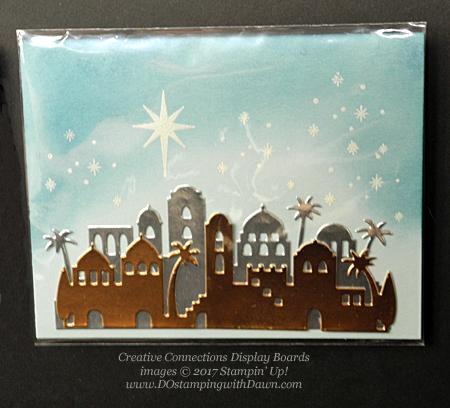Stampin' Up! Night in Bethlehem stamp set and Bethlehem Edgelits Dies shared by Dawn Olchefske #dostamping #stampinup #handmade #cardmaking #stamping #diy #rubberstamping