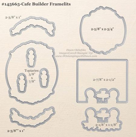 Stampin' Up! Cafe Builder Framelit #dostamping #stampinup #cafebuilder #bigshot #diy #handmade #cardmaking