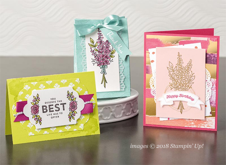 Stampin' Up! Sale-a-Bration Lots of Lavender shared by Dawn Olchefske #dostamping #stampinup #handmade #cardmaking #stamping #diy #rubberstamping #papercrafting