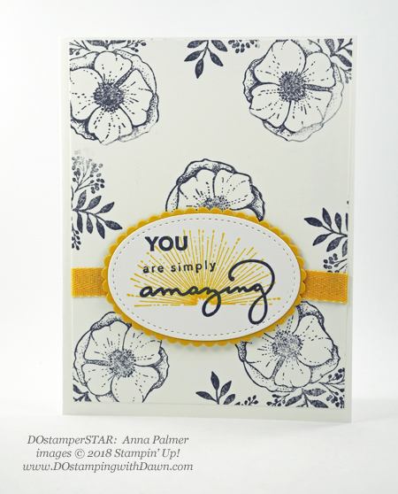 Stampin' Up! Sale-a-Bration Amazing You swaps shared by Dawn Olchefske #dostamping #stampinup #handmade #cardmaking #stamping #diy #rubberstamping #papercrafting #amazingyou #dostamperstars (Anna Palmer)