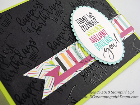 Stampin' Up! Picture Perfect Birthday stamp set shared by Dawn Olchefske #dostamping #stampinup #handmade #cardmaking #stamping #diy #rubberstamping #papercrafting #birthdaycards