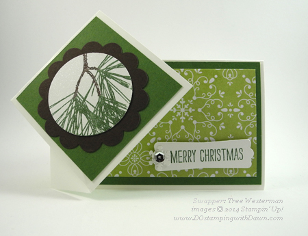 #dostamping #stampinup #2014HolidayCatalog #christmas #diy #cardmaking made by Tree Westerman
