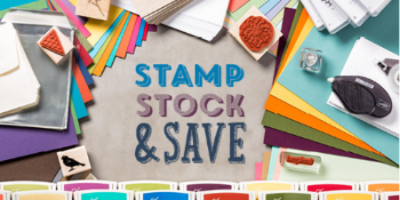 DOstamping, stamp stock & save with Stampin' Up!, craft supplies
