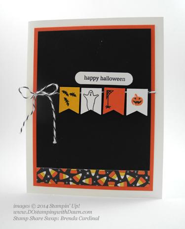 #cardmaking #dawnolchefske #diy #dostamping #papercrafting #stampinup #halloween #2014holidaycatalog #holidayhome