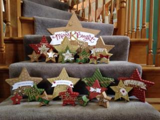 #stampinup #ManyMerryStars #diy #christmas
