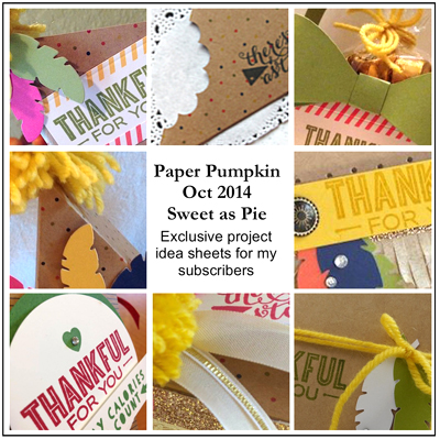 subscribers bonus shared by Dawn Olchefske, dostamping  #paperpumpkin #sweetaspie #stampinup