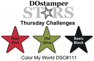 DOstamperSTARS Thursday Challenge #DSC111 #colorcombos