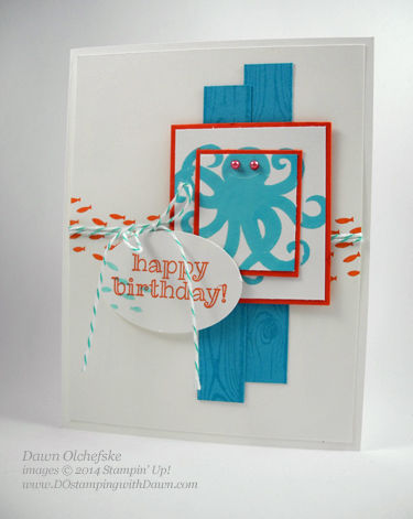 Sea Street Card designed by Dawn Olchefske #dostamping #stampinup