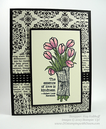 Love is Kindness Stampin' Up! 2015 Occasions Catalogs swap cards shared by Dawn Olchefske #dostamping #love (Kay Kalthoff)