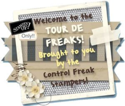 Control Freaks Tour Badge - Dawn Olchefske #dostamping
