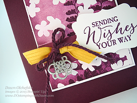 Something Borrowed Embellishment, Butterfly Basics and SAB Irresistibly Yours DSP card created by Dawn Olchefske for DOstamperSTARS Thursday Challenge #123 #dostamping #stampinup