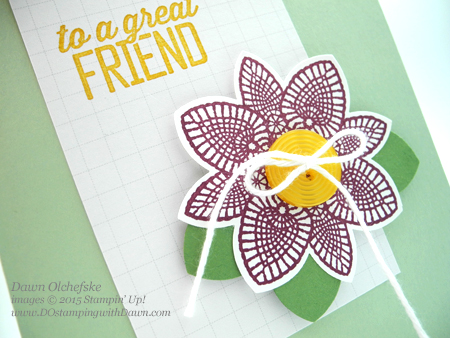 Petal Potpourri Bundle (save 15%) card with SAB Simply Wonderful card created by Dawn Olchefske #dostamping #stampinup