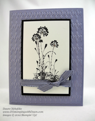 Serene Silhouette card by Dawn Olchefske #dostamping #weekly deals