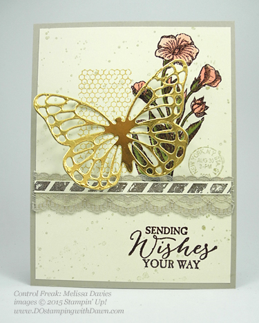 Butterflies Bundle swap cards shared by Dawn Olchefske #dostamping #stampinup (Melissa Davies)