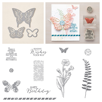 They're here!  Butterflies Bundle by Stampin' Up! #dostamping #stampinup