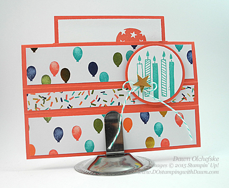 Box Stand Card Fun Fold HSDT video series by Dawn Olchefske #dostamping #stampinup