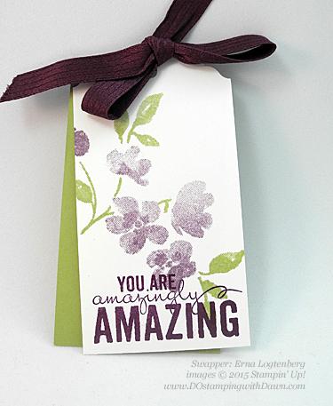 Painted Petals swaps shared by Dawn Olchefske #dostamping #stampinup (Erna Logtenberg)
