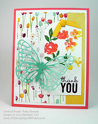 Painted Petals swaps shared by Dawn Olchefske #dostamping #stampinup (Patty Bennett)
