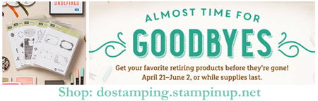 Stampin' Up! Retired Lists #dostamping #stampinup