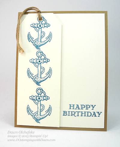 Guy Greetings QC card by Dawn Olchefske #dostamping #stampinup