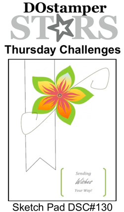 DOstamperSTARS Thursday Challenge #130 #dostamping #stampinup