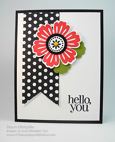 Retiring Mixed Bunch card by Dawn Olchefske for DOstamperSTARS Thursday Challenge #130 #dostamping #stampinup