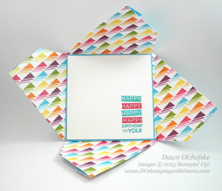 Sweet Taffy DSP 2015 Weekly Deal May 5 Dawn Olchefske #dostamping #stampinup