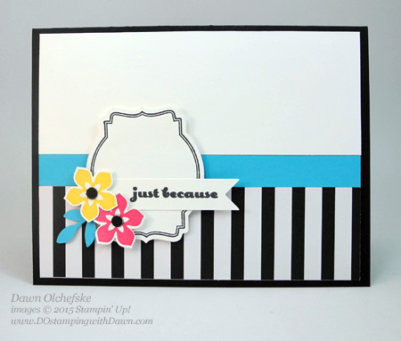 Oh My Goodies & Beautiful Bunch card shared by Dawn Olchefske #dostamping #stampinup