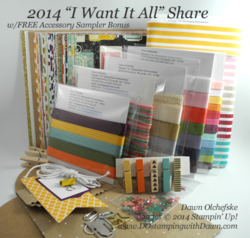 2014 I want it all share