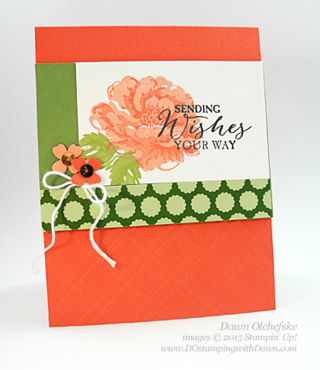 Stippled Blossom & Butterfly Basics card created by Dawn Olchefske for DOstamperSTARS Thursday Challenge DSC#126 #dostamping #stampinup