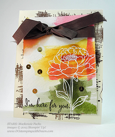 STARS You've Got This swap card shared by Dawn Olchefske #dostamping #stampinup Mackenzie Fuchs