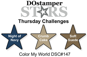 DOstamperSTARS Thursday Color Challenge DSC#147