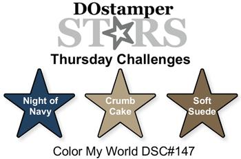 DOstamperSTARS Thursday Color Challenge DSC#147