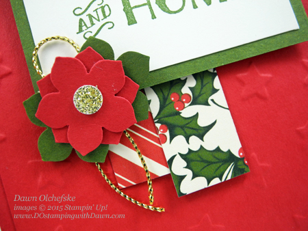 Cozy Christmas Card shared by Dawn Olchefske  #dostamping #stampinup