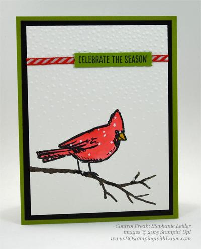 Joyful Season cards shared by Dawn Olchefske #dostamping #stampinup Stephanie Leider