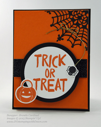 Hall-o-ween Treat swap shared by Dawn Olchefske #dostamping #stampinup (Brenda Cardinal)