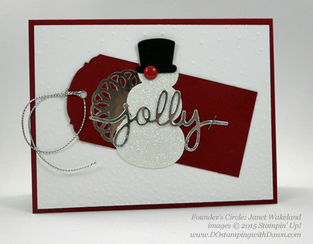 Snow Place Bundle swap cards shared by Dawn Olchefske #dostamping #stampinup (Janet Wakeland)