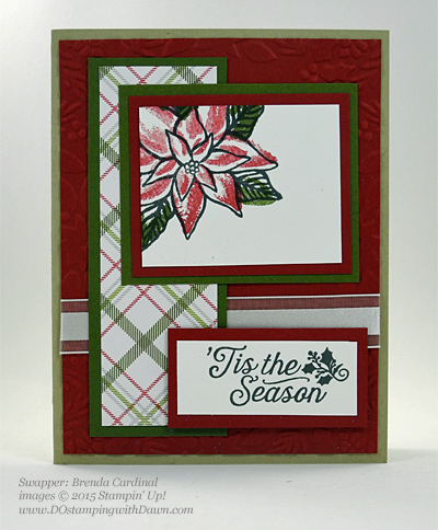 Reason for the Season swap cards shared by Dawn Olchefske #dostamping #stampinup Brenda Cardinal