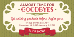 Stampin' Up! 2015 Holiday Catalog Retired List #dostamping