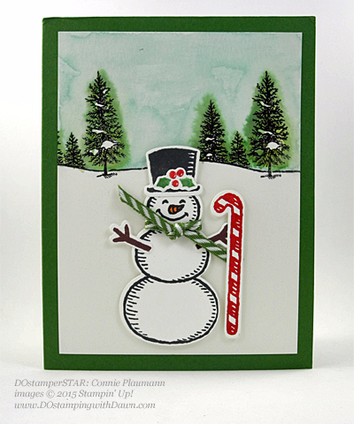 DOstamperSTARS Holiday Cards shared by Dawn Olchefske #dostamping #stampinup (Connie Plaumann)