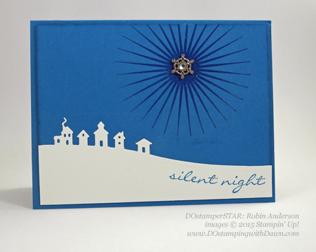 DOstamperSTARS Holiday Cards shared by Dawn Olchefske #dostamping #stampinup (Robin Anderson)