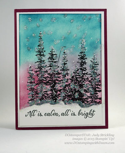 DOstamperSTARS Holiday cards shared by Dawn Olchefske #dostamping #stampinup (Judy Strickling)