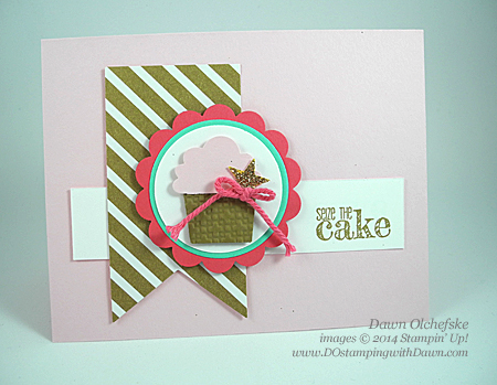 Something to Say Card Shared by Dawn Olchefske #dostamping #stampinup