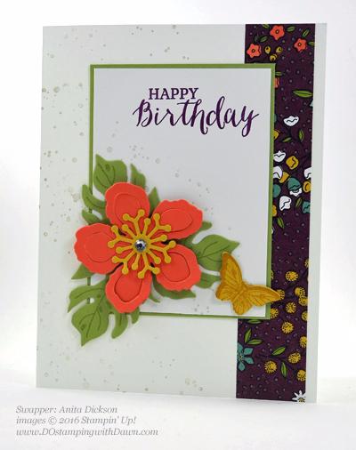 Botanical Gardens Bundle swap cards Shared by Dawn Olchefske #dostamping #stampinup (Anita Dickson)