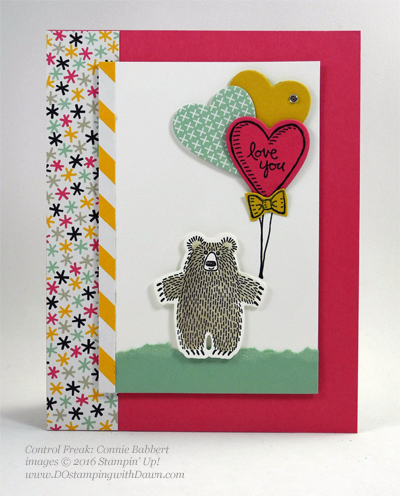 Bear Hugs cards shared by Dawn Olchefske #dostamping #stampinup (Connie Babbert)