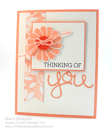 Crazy About You card designed by Dawn Olchefske for DOstamperSTARS Thursday Challenge #115 #dostamping #stampinup