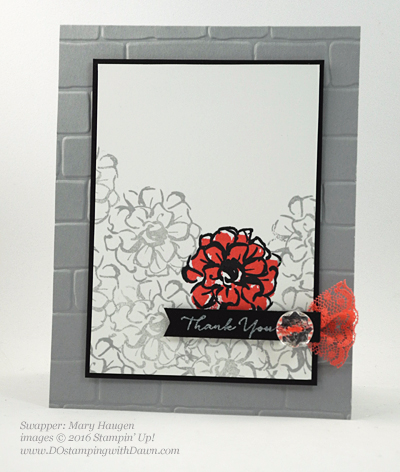 What I Love swap cards shared by Dawn Olchefske #dostamping #stampinup (Mary Haugen)