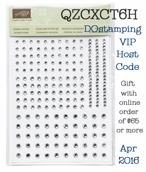 DOstamping VIP Host Code Gift for April 2016