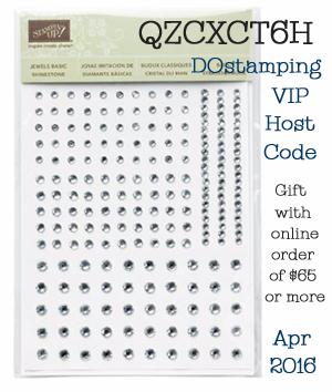 DOstamping VIP Host Code Gift for April 2016
